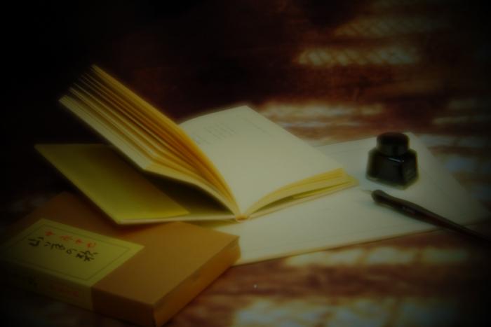 ツバキアキラが撮った、中原中也「白紙(ブランク)」イメージ写真
